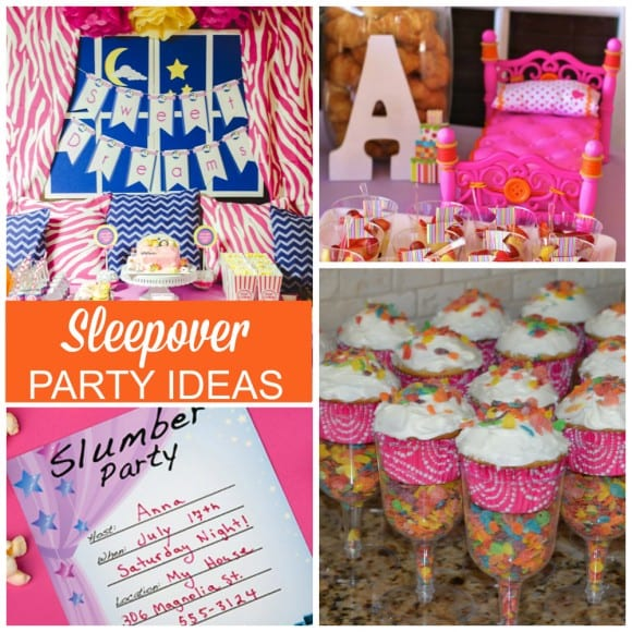 Sleepover Party Ideas | CatchMyParty.com