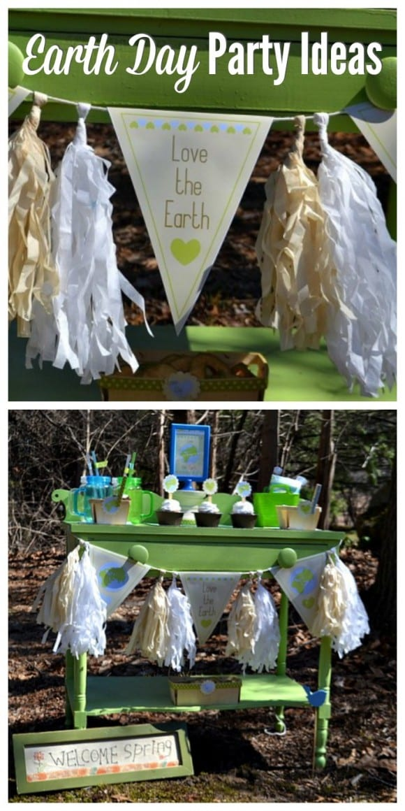 Earth Day party ideas | CatchMyParty.com