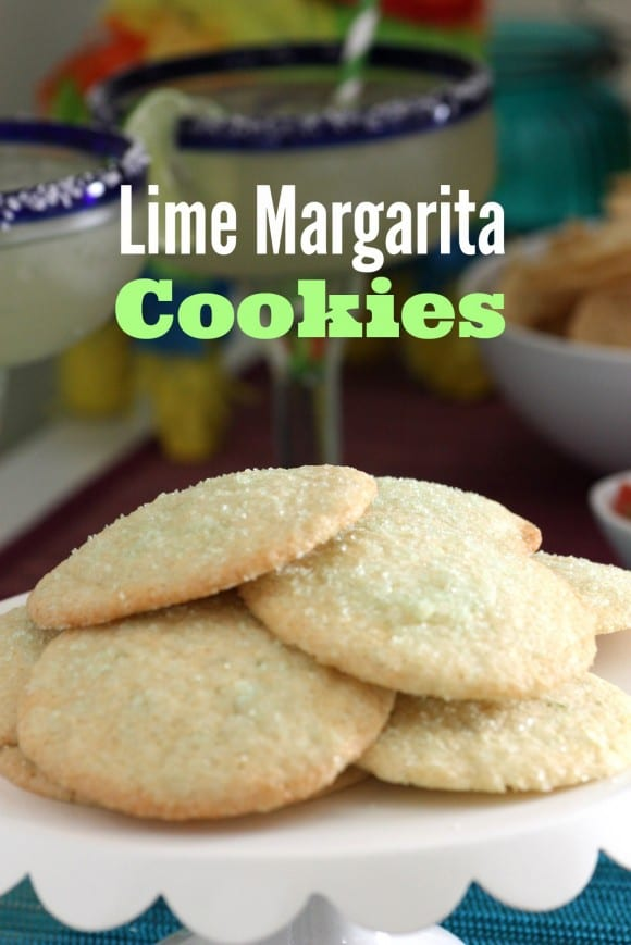 Lime margarita cookie recipe. Perfect for Cinco de Mayo! | CatchMyParty.com