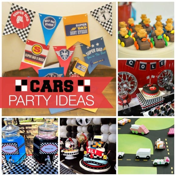 Car Party Ideas | CatchMyParty.com