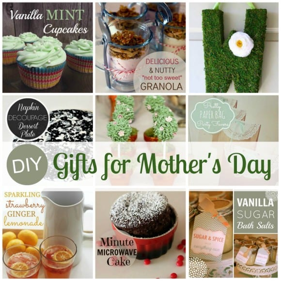 DIY Mother's Day Gifts | CatchMyParty.com