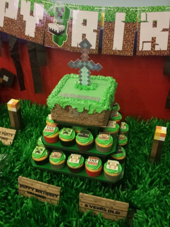 Minecraft Sword Cake Catchmyparty Com