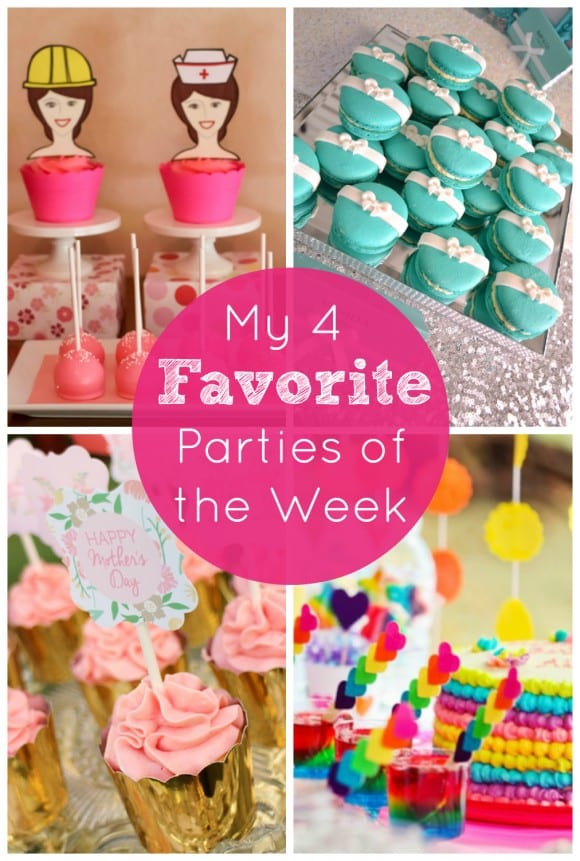 My 4 Favorite Parties May 4 | CatchMyParty.com