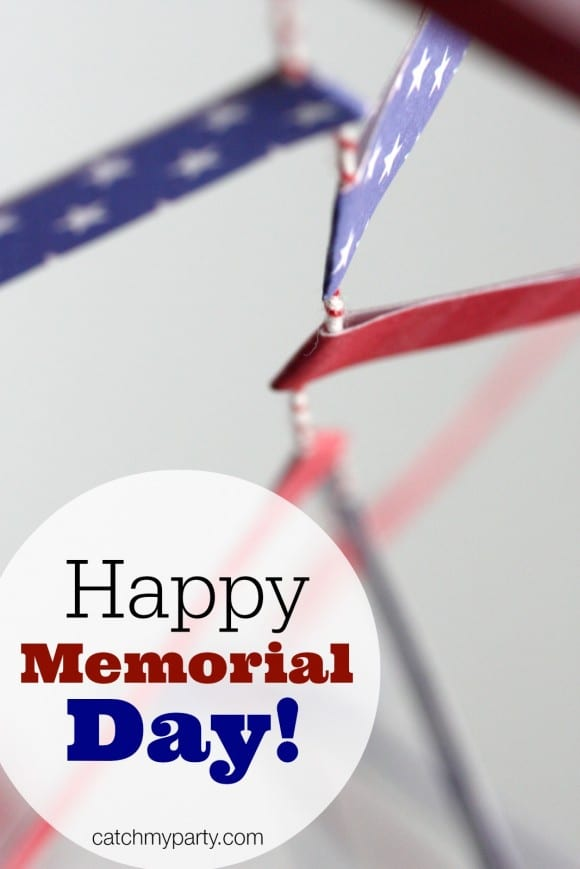 Happy Memorial Day! | CatchMyParty.com
