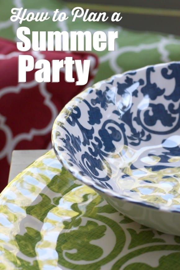 Summer Dinner Party Ideas | CatchMyParty.com