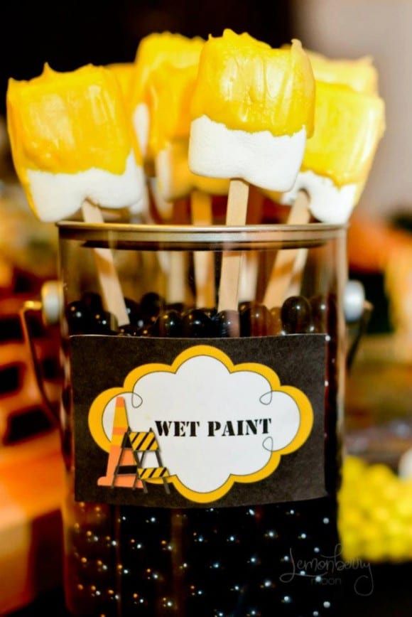 Construction Party Dessert Ideas | CatchMyParty.com