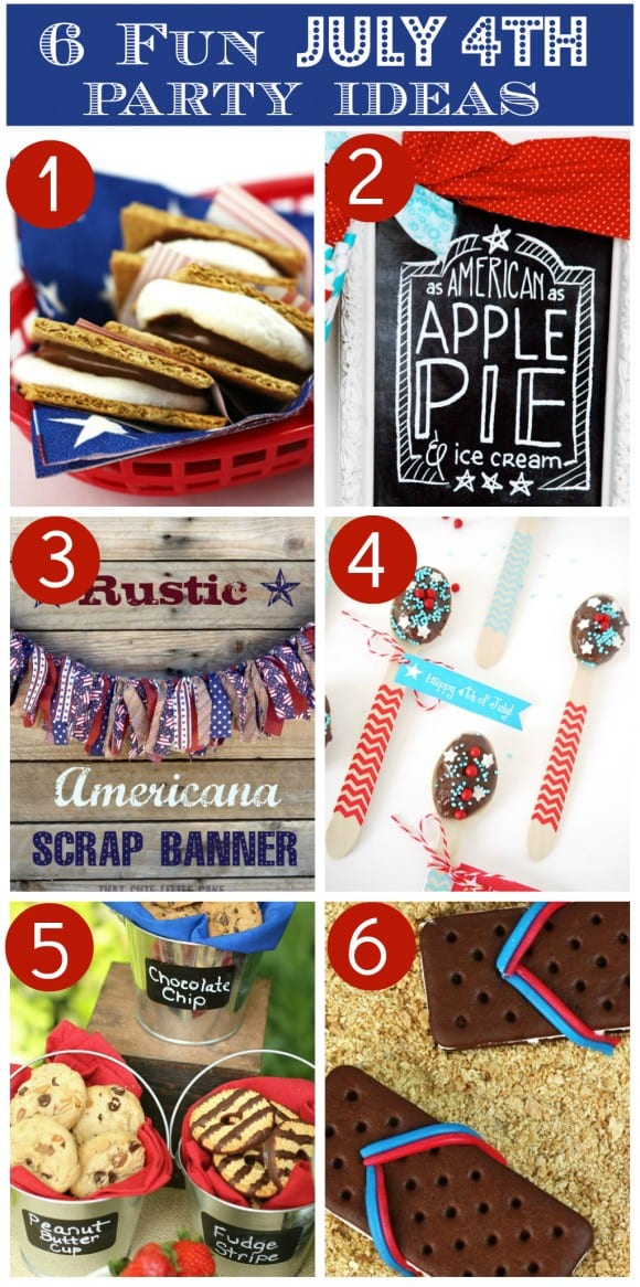 July 4th Crafts, Recipes, & Free Printables! | CatchMyParty.com