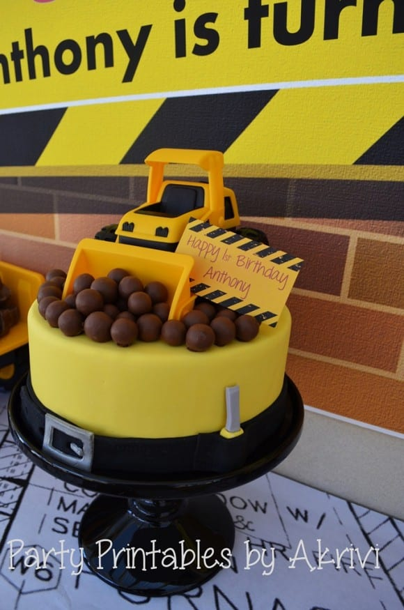 7 MustHaves for Your Construction Birthday Party Catch My Party