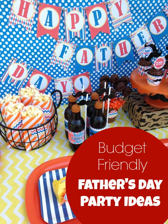 Easy and inexpensive Father's Day Party Ideas | CatchMyParty.com