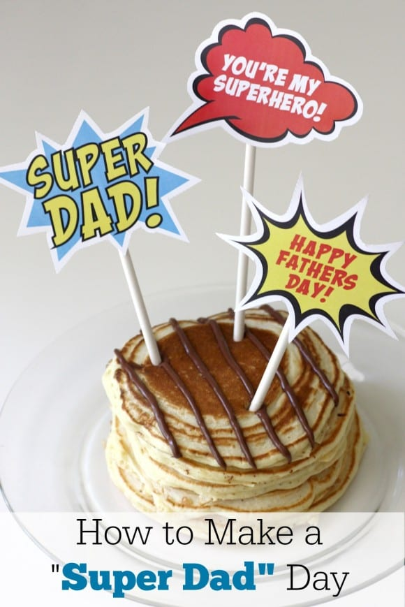 Free Father's Day Superhero Printables! | CatchMyParty.com
