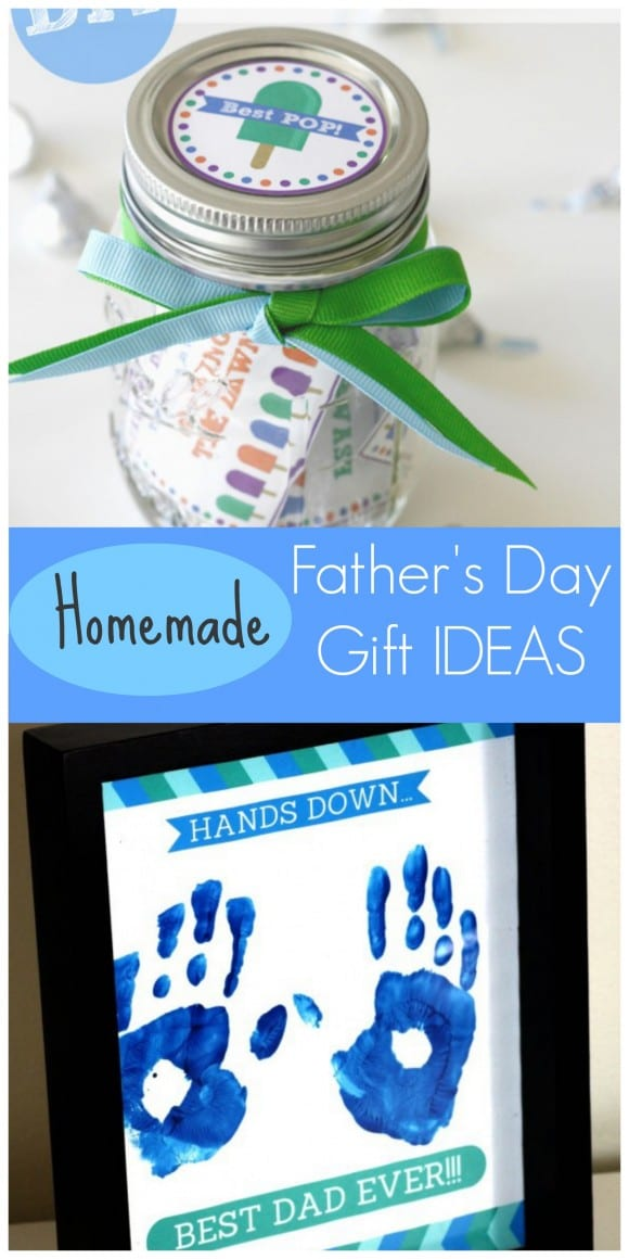 Homemade Father's Day gift ideas to do with your children! | CatchMyParty.com