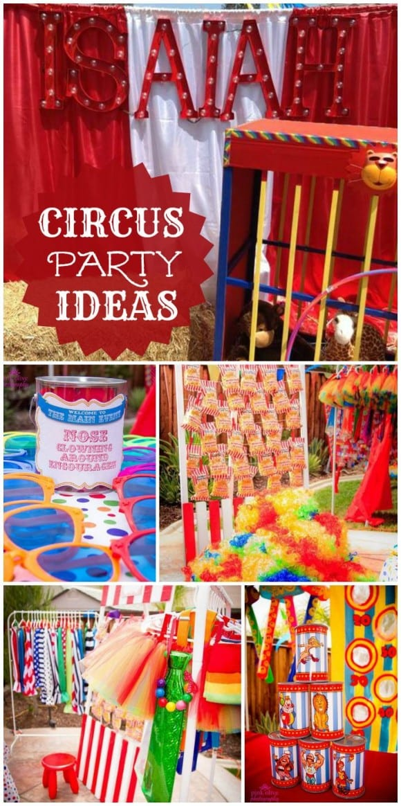 Amazing circus party you've got to see! | CatchMyParty.com