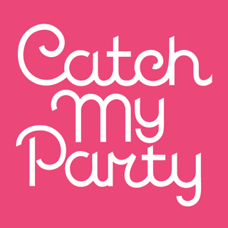CatchMyParty Stacked Logo