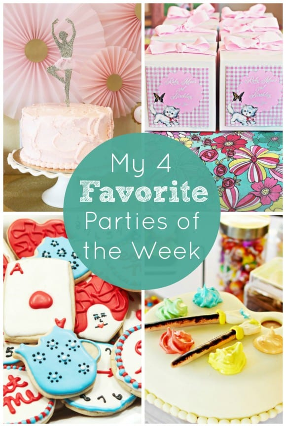 My 4 Favorite Parties of the Week on CatchMyParty.com!
