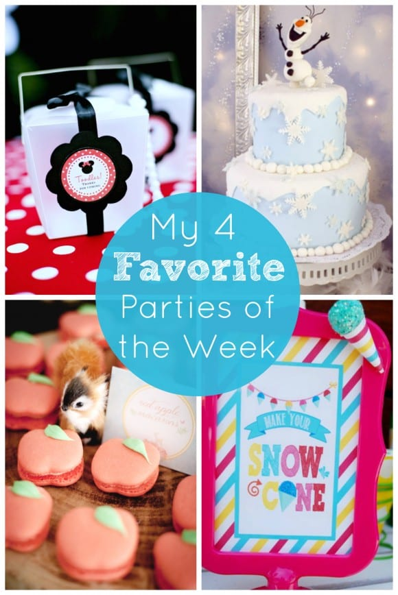 My 4 Favorite Parties of the Week July 20 | CatchMyParty.com!