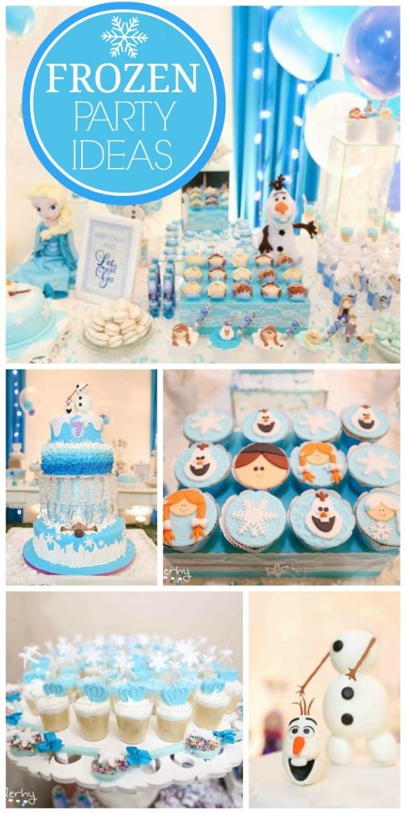 10 Must-See Frozen Parties | CatchMyParty.com