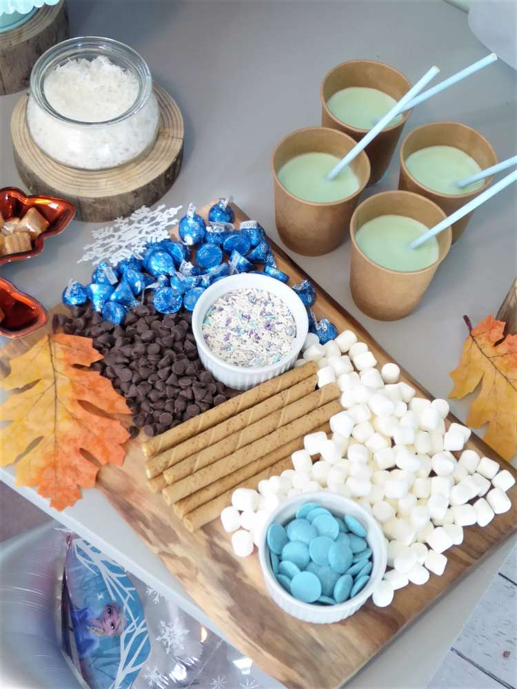 Fabulous Frozen Hot Cocoa Bar Toppings