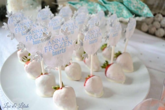 16 Awesome Frozen Party Treats | CatchMyParty.com