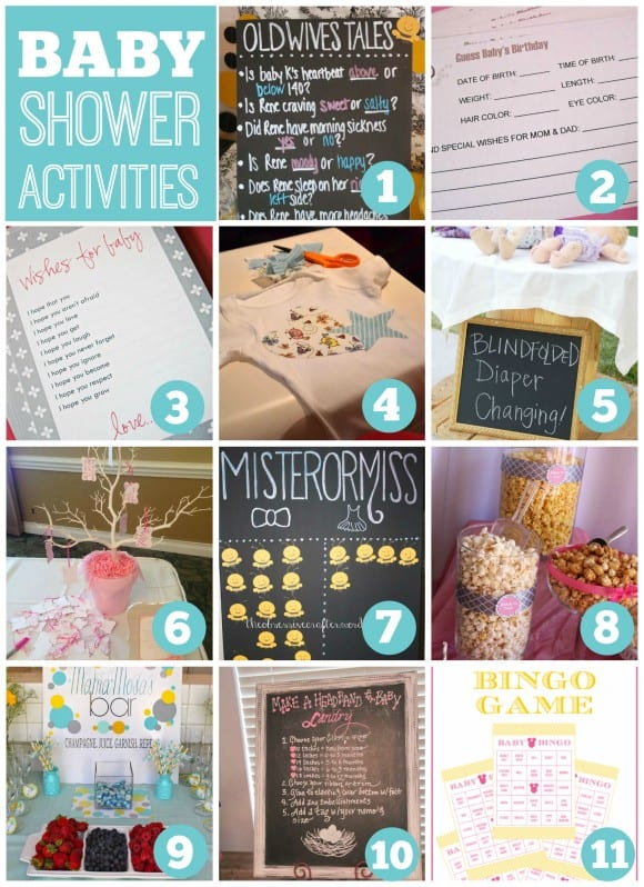 Great baby shower activities | CatchMyParty.com