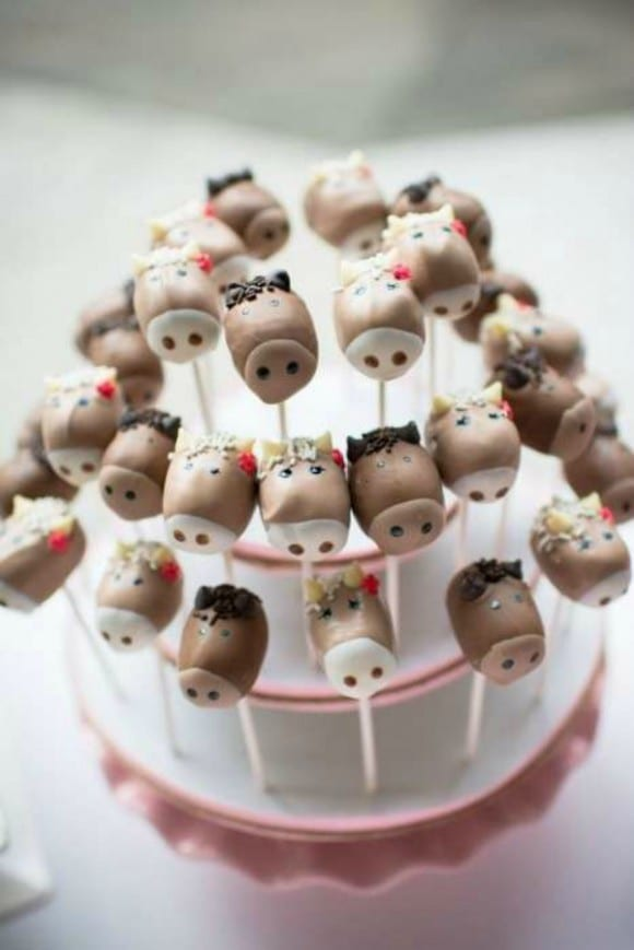 Horse cake pops | CatchMyParty.com
