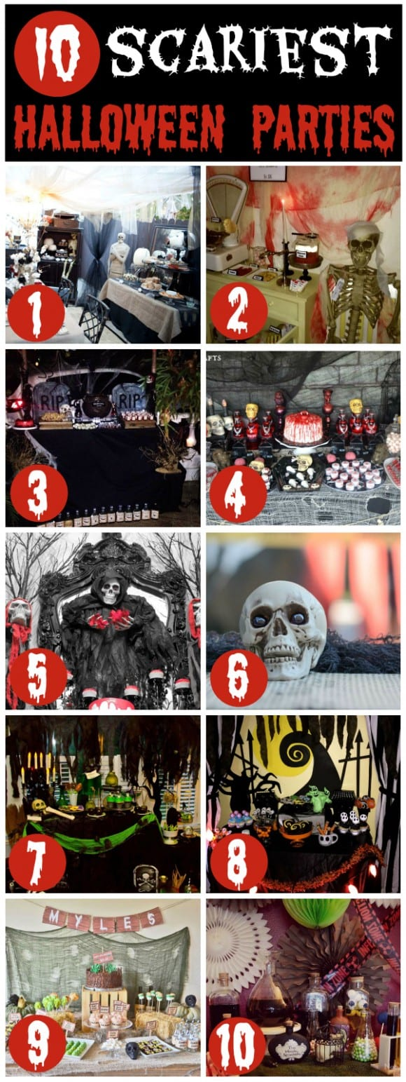 10 Scary Halloween Parties | CatchMyParty.com