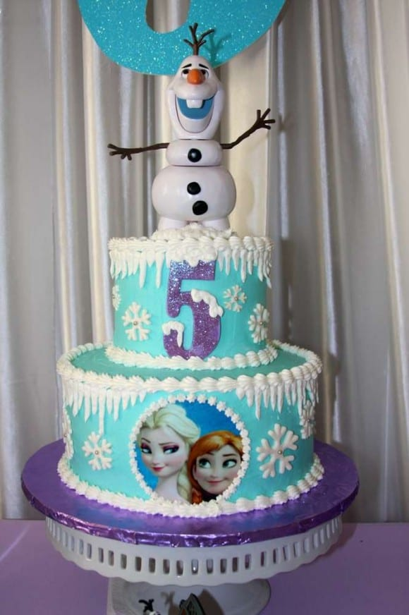 12 Amazing Frozen Birthday Cakes Catch My Party