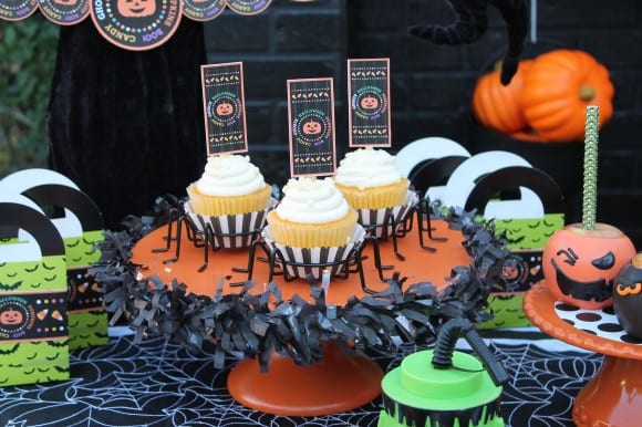 Learn how to throw this toddler Halloween Party! | CatchMyParty.com