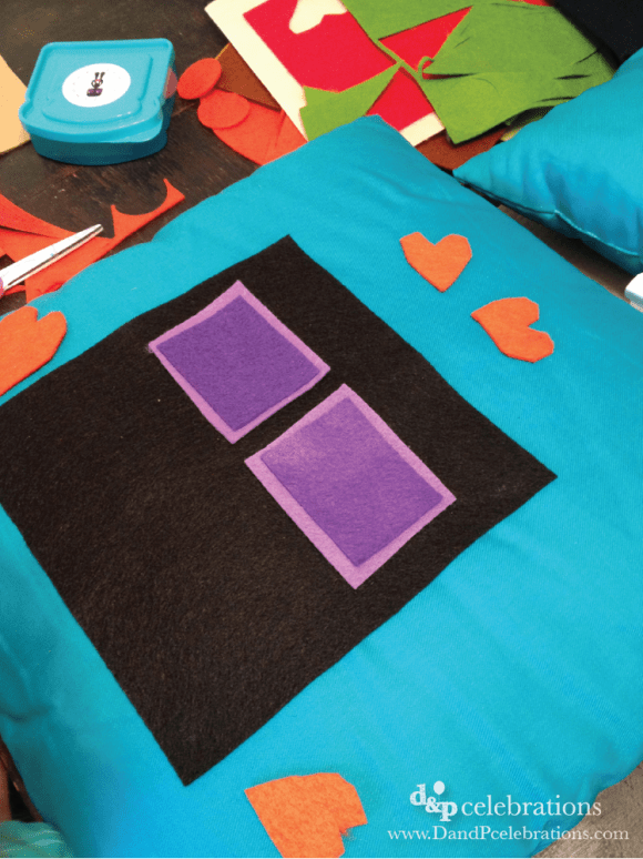 Minecraft Party Enderman Pillow