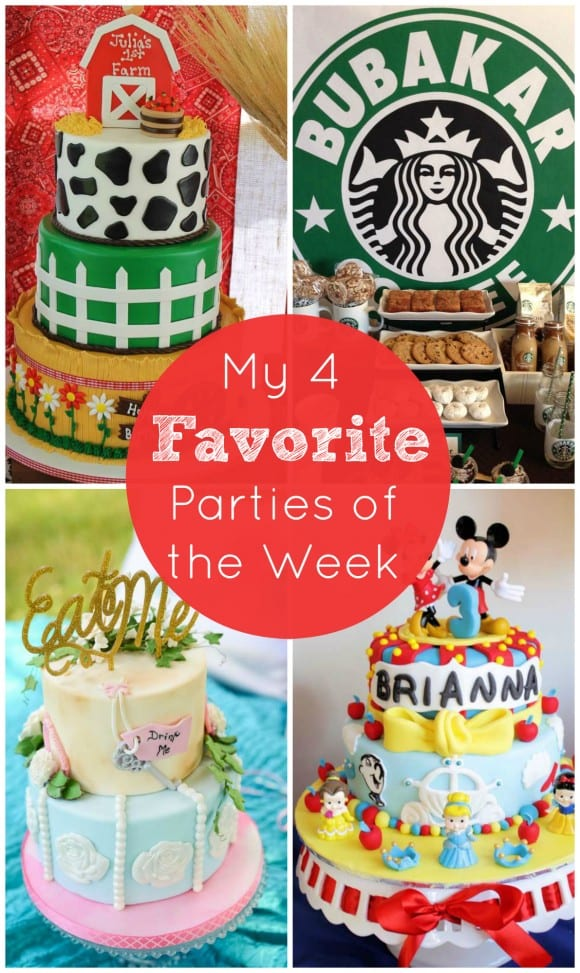 A Starbucks Party and more! | CatchMyParty.com