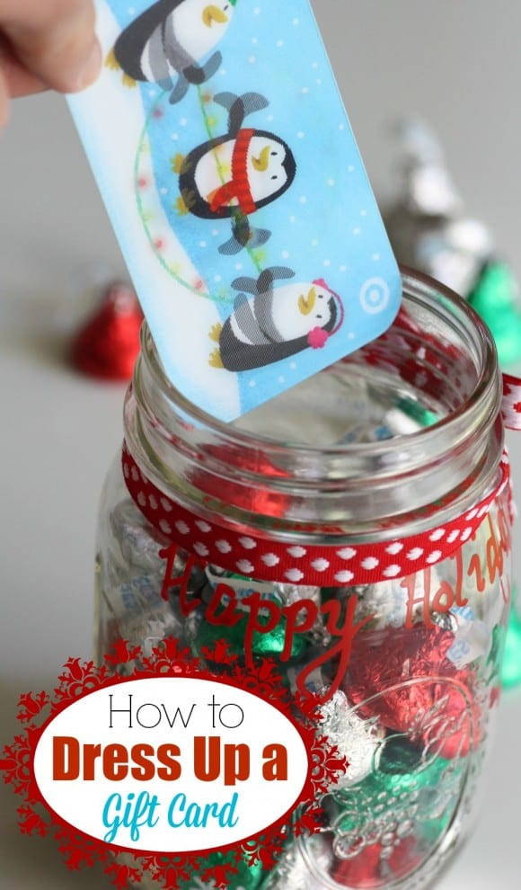 Gift card holder DIY | CatchMyParty.com