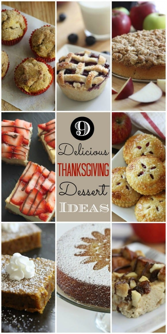 Last-Minute Delicious Thanksgiving Dessert Ideas | CatchMyParty.com