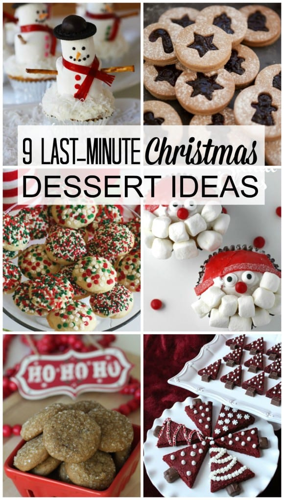 9 last minute Christmas dessert ideas | CatchMyParty.com