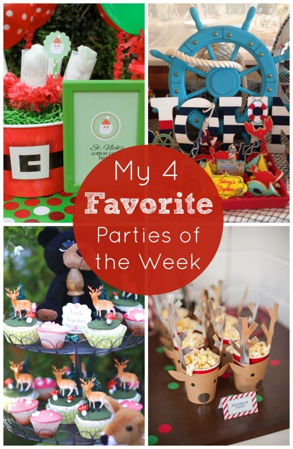 My 4 favorite parties of the week including Christmas parties! | CatchMyParty.com