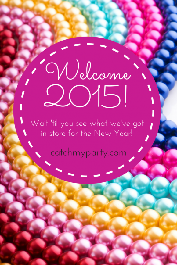Happy New Year from Catch My Party! | CatchMyParty.com