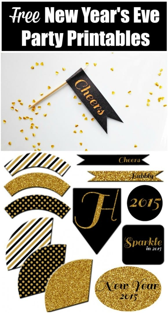 Free New Year's Eve Party Printables | CatchMyParty.com