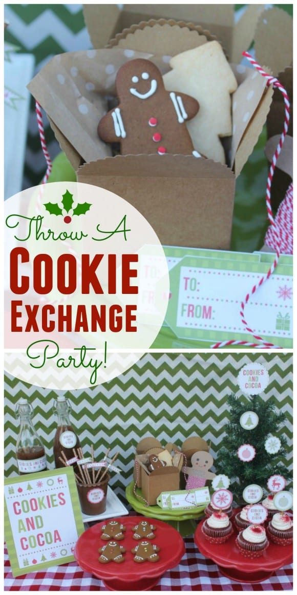 Cookie Exchange Party Ideas | CatchMyParty.com