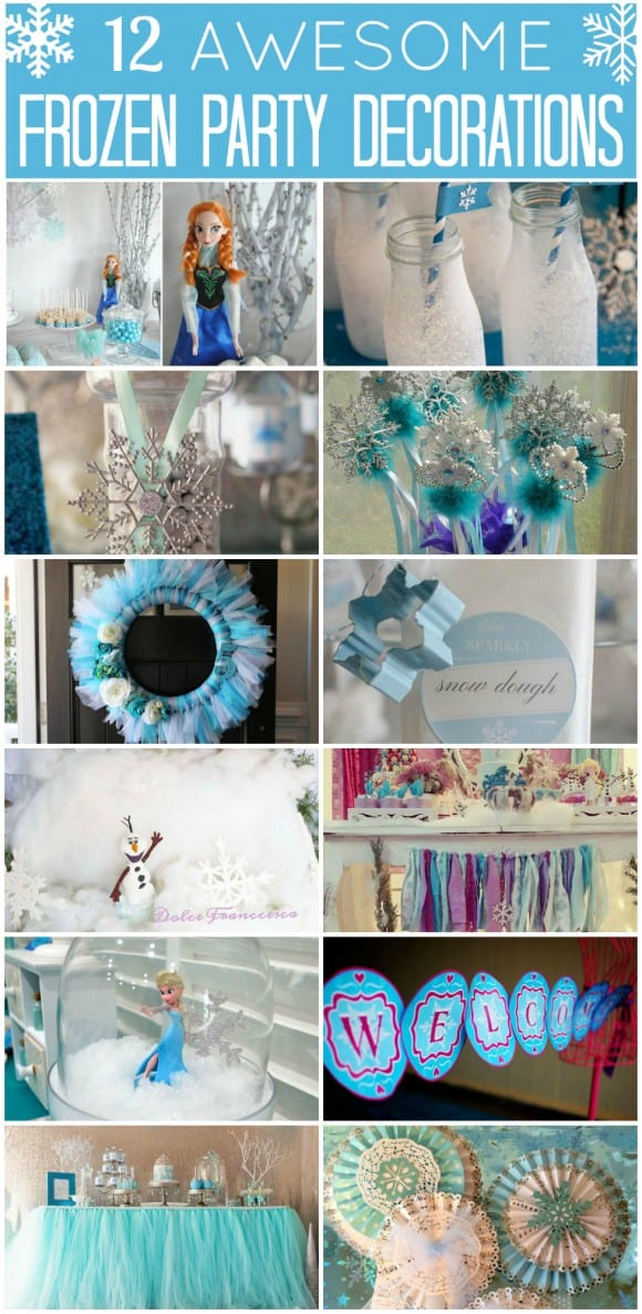 12 Awesome Frozen Party Decorations | CatchMyParty.com