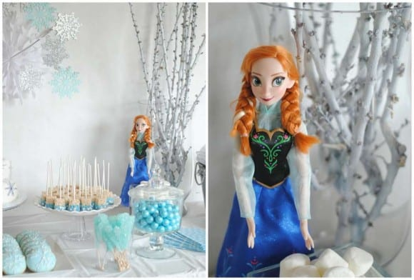 Frozen toy decorations | CatchMyParty.com