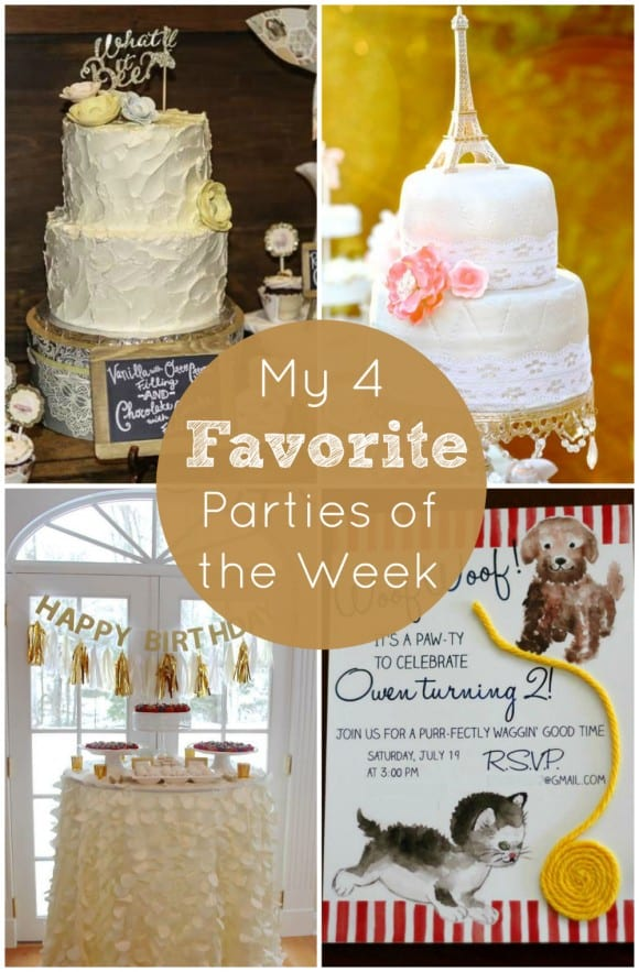 Paris Bridal Shower | CatchMyParty.com