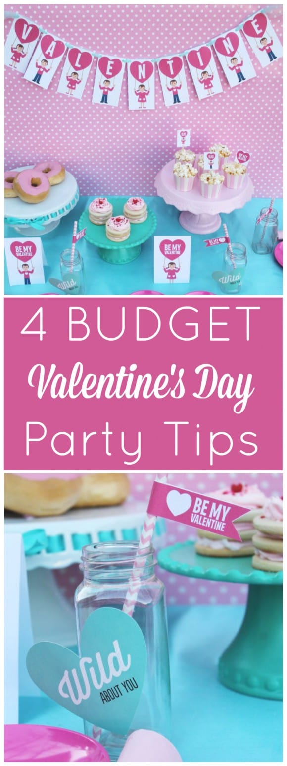 4 Budget Valentine's Day Party Tips | CatchMyParty.com