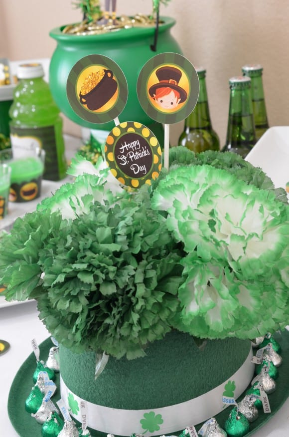 St. Patrick's Day party ideas | CatchMyParty.com