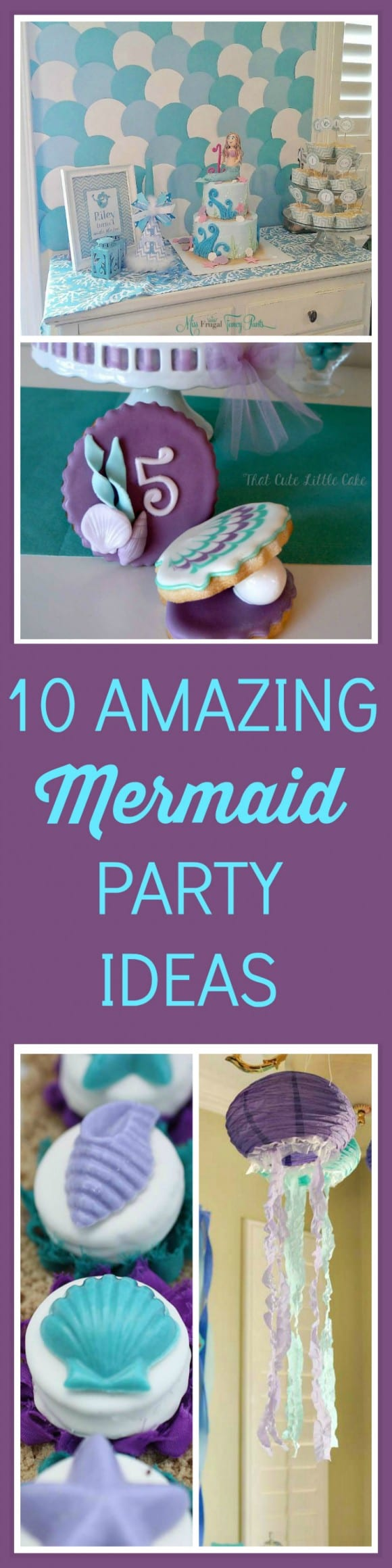 10 amazing mermaid party ideas | CatchMyParty.com