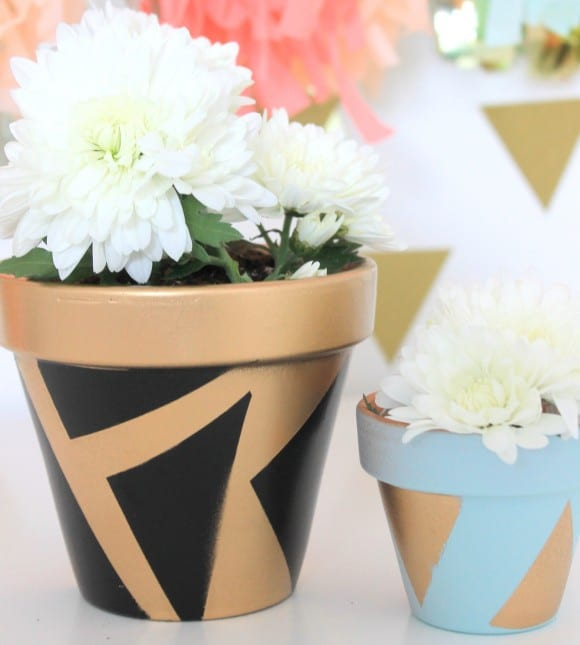 Painted Planters | CatchMyParty.com