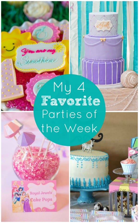 My 4 Favorite Parties of the Week