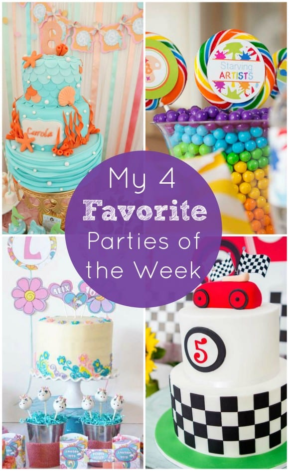 Art birthday party and other party favorites from the week | CatchMyParty.com