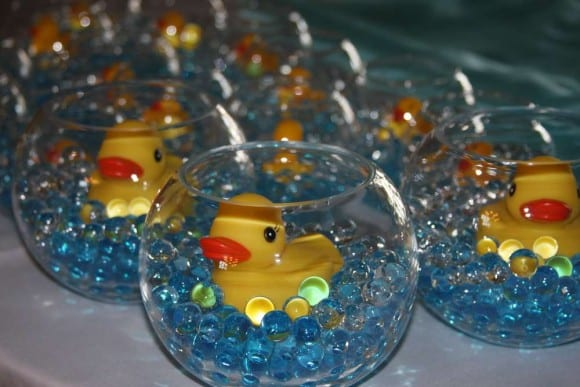 Rubber Ducky favors | CatchMyParty.com