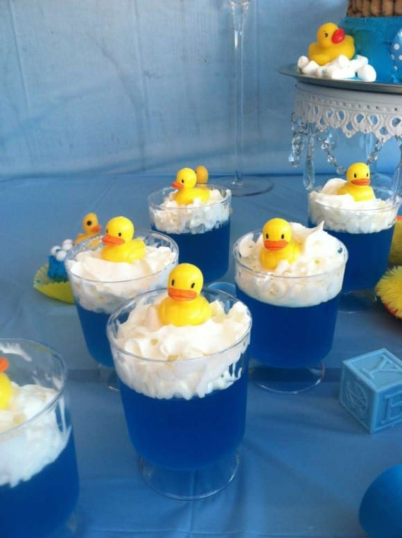 Rubber Ducky jello | CatchMyParty.com