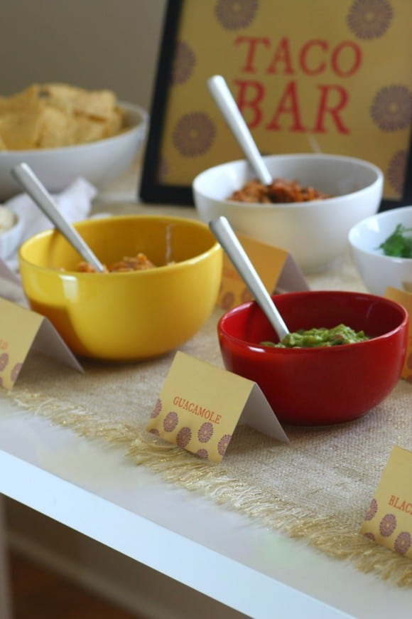 How to Create a Taco Bar | CatchMyParty.com