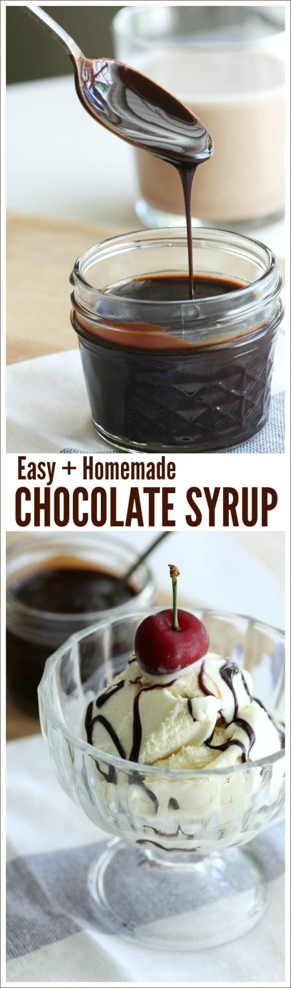 Easy Chocolate Syrup Recipe | CatchMyParty.com