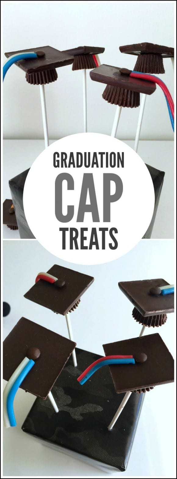 Easy Graduation Cap Treats | CatchMyParty.com